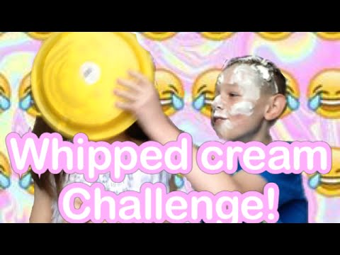WHIPPED CREAM CHALLENGE WITH MY BRO!😱