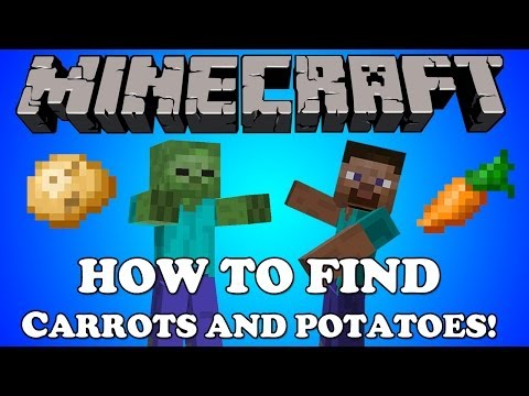 Minecraft Xbox: How To Find Carrots and Potatoes [Tutorial]