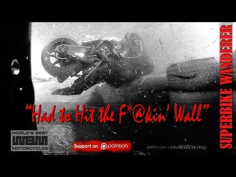 S1000RR Superbike Crash: