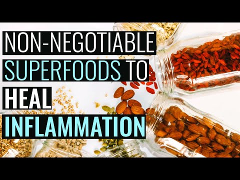 Powerful Superfoods and Supplements for Inflammation