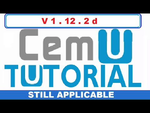 HOW TO PLAY WII U GAMES ON PC USING CEMU (WORKS WITH CEMU 1.11.4)