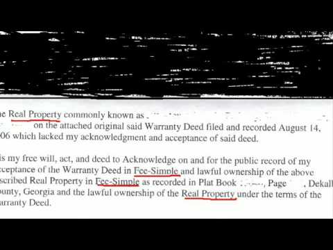 Accept Deed Filed & Recorded...whats lies next...