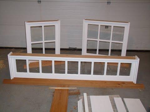 Making Frames for Barn Sash Windows