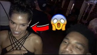 DOMI DIDNT LIKE THE WAY THIS GIRL CAME ON TO ME AT THE CLUB!!!