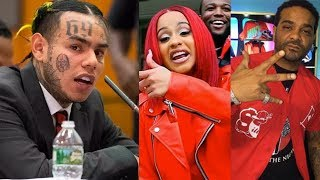 "6IX9INE Snitches On Jim Jones / Cardi B... ""They"