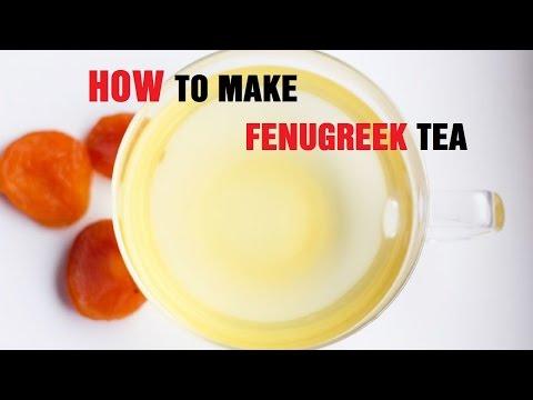 How to Make Fenugreek Tea