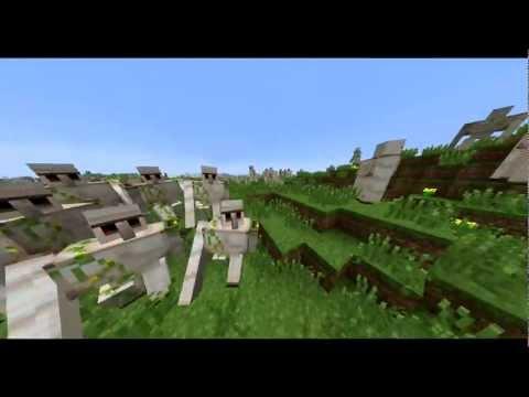 Minecraft: Iron Golems giant army for Minecraftia !