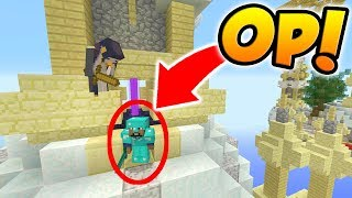 Defeating An Op Player! | Minecraft Xbox Bed Wars