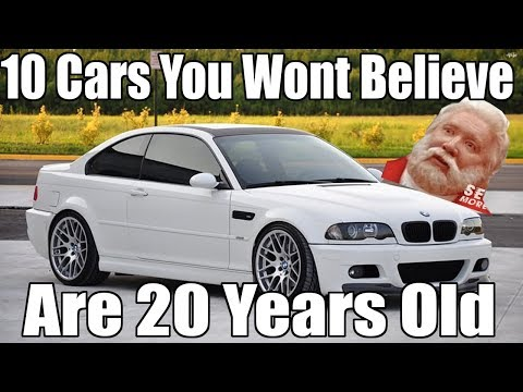 10 Cars You Wont Believe Are 20 Years Old