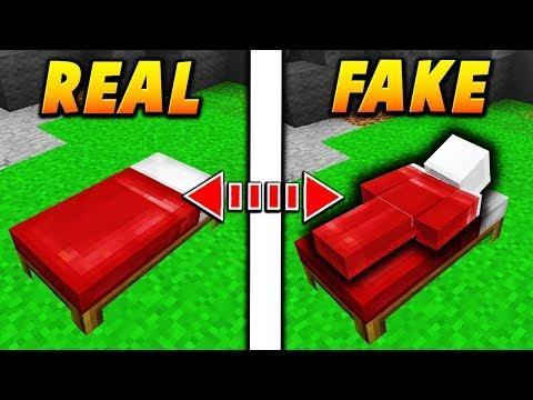 FAKE BED SKIN TROLL! - Minecraft SKYWARS TROLLING (INSANE!)