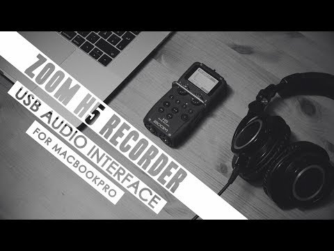 Zoom H5 Recorder in USB Audio Interface mode