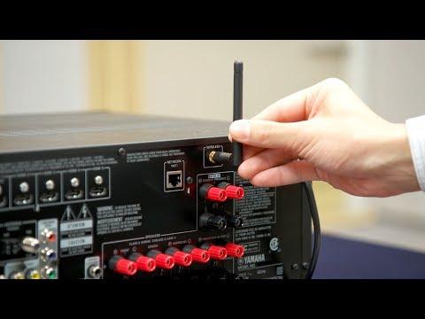 Yamaha Wi-Fi AVR