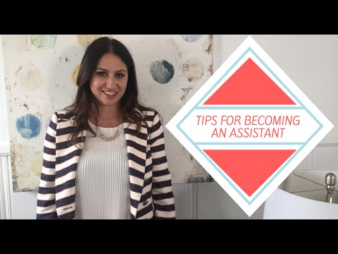 Tips for Being an Assistant! | The Intern Queen
