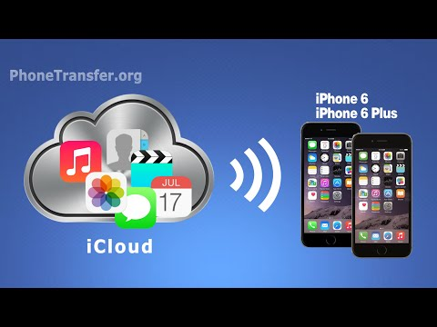 How to Transfer All Data from iCloud to iPhone 6, Sync iPhone 6/6S with iCloud Files