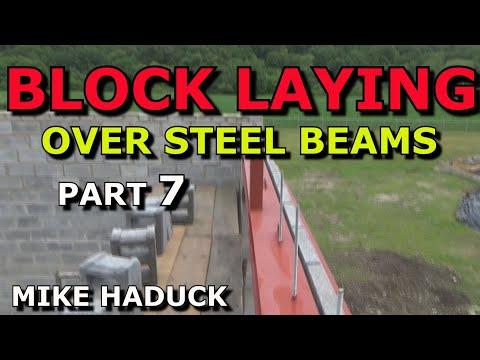 How I do blockwork (part 7 of 7) Lintels-steel beams (Mike Haduck)