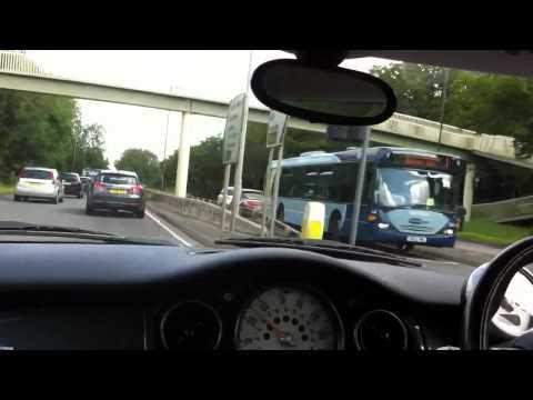 Driving to work, MINI Cooper S