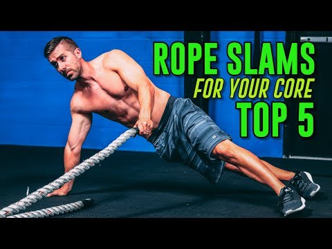 TOP 5 Core Exercises with a Battle Rope (Hard BUT Rewarding)