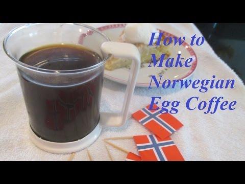 Norwegian Egg Coffee - Norske Egg Kaffe
