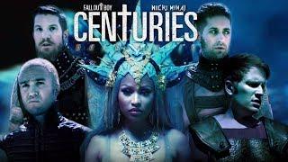 Nicki Minaj & Fall Out Boy - HARD WHITE CENTURIES 🗽 (Mashup)   MV