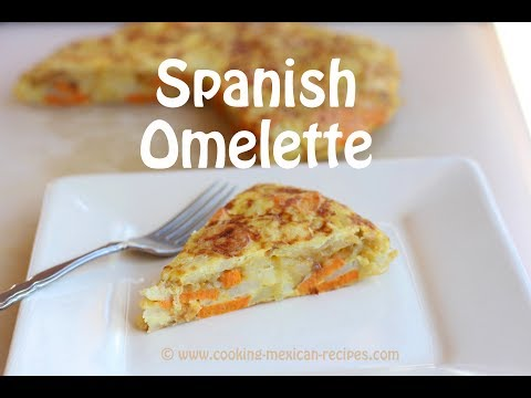 How To Make A Spanish Omelette | Spanish Tortilla Recipe | Rockin Robin Cooks