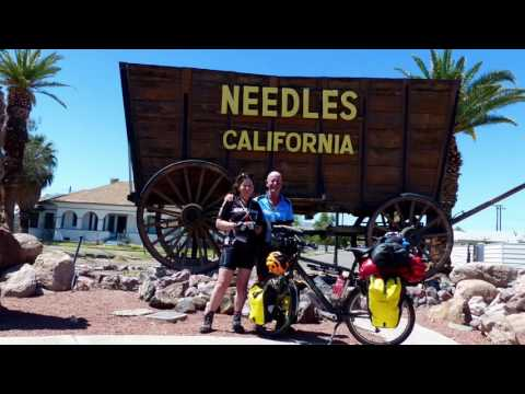 Route 66 on a bicycle