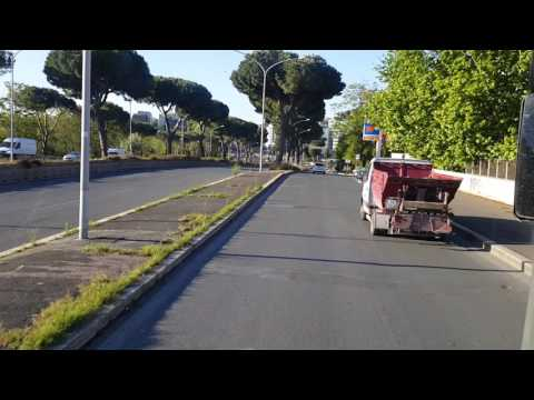 Roma Termini to FCO Airport By bus journey