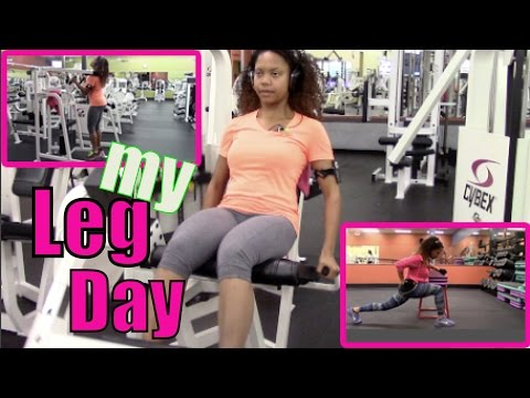 My Leg Day (in the gym)