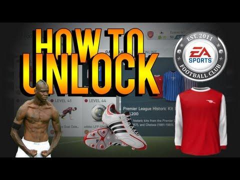 FIFA 14 Ultimate Team   How To Unlock Classic Kits, Celebrations, Boots, Balls & Badges