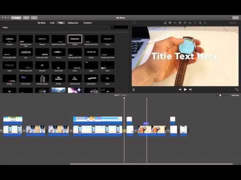 how to open precision editor in imovie?