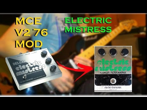 Deluxe Electric Mistress (MCE V2 76 MOD) | Review for Gilmour and Pink Floyd sound