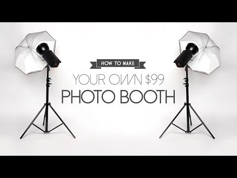 DIY - How to Build a Photo Booth for only $99