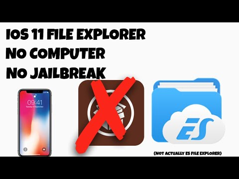 HOW TO GET FULL ROOT FILE EXPLORER ON IPHONE | Filza | (NO COMPUTER) | IOS 11-11.1.2
