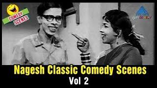 Nagesh Comedy Scenes   Vol 2   Tamil Classic Comedy   Nagesh   Manorama   Pyramid Glitz Comedy