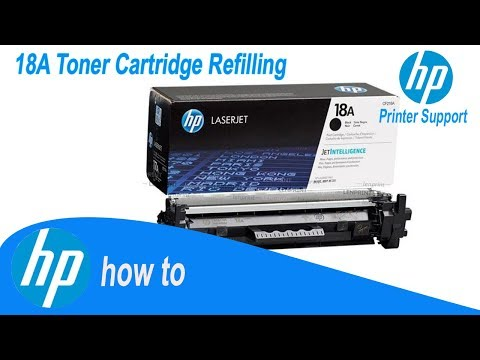 HP 30A (CF230A), /18A Toner Cartridge Refilling Tips And Tricks