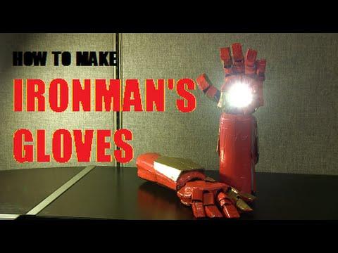 How to make Ironman's Glove - Civil War