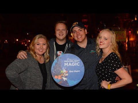 Disney Vacation Club Moonlight Magic at Magic Kingdom | Full Fireworks Show