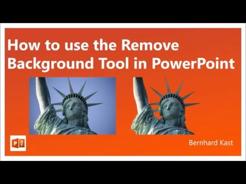 How to use the Remove Background Tool in PowerPoint