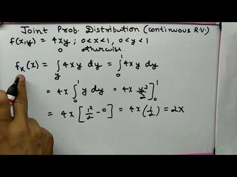Joint Probability Distribution (continuous random variables)