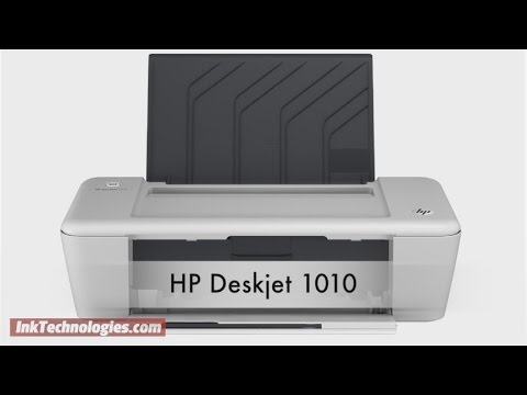 HP Deskjet 1010 Instructional Video