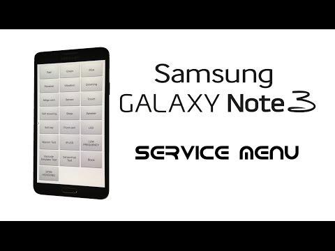 Samsung GALAXY Note 3 / Neo / Duos - Service / Test / Hidden Diagnostic Menu, Secret Codes