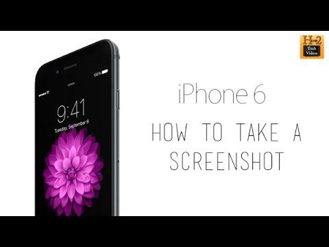 iPhone 6 - How to Take a Screenshot | H2TechVideos