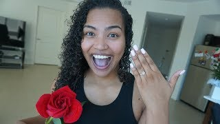 THIS MADE HER CRY....THE FAMILY IS BACK TOGETHER!!!! ( EMOTIONAL) 💏💍♥️