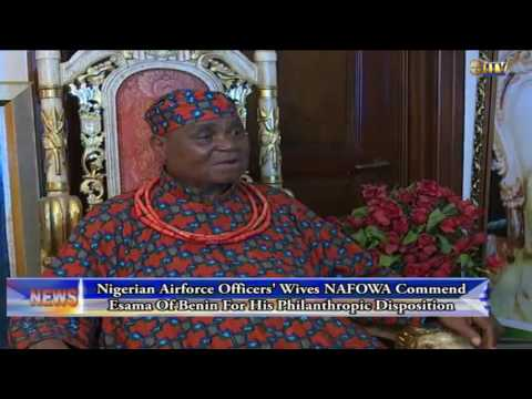 NAFOWA commends Esama of Benin for his philanthropic disposition