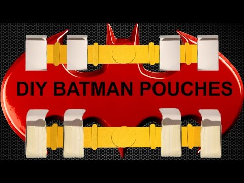 DIY BATMAN POUCHES