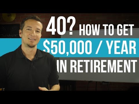 How to invest for retirement in your 40s.