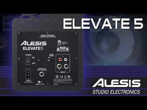Alesis Elevate 5 Active Studio Monitor Speakers