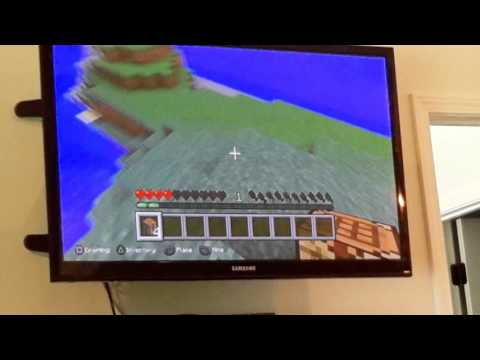 How to build a crafting table on minecraft for ps3
