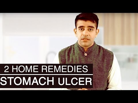 2 Best Home Remedies For STOMACH ULCERS TREATMENT