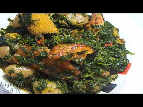 Edikang Ikong Soup (edikaikong) | Nigerian Vegetable Soup | Nigerian Food TV
