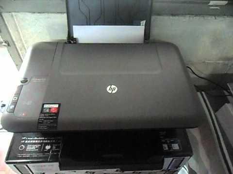 HP Deskjet 1050 All-in-One Printer - J410a
